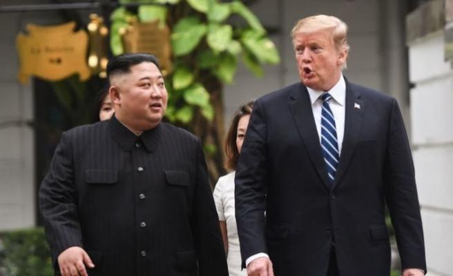 Trump-Kim görüşmesinde kriz: Beyaz Saray sözcüsü yaralandı