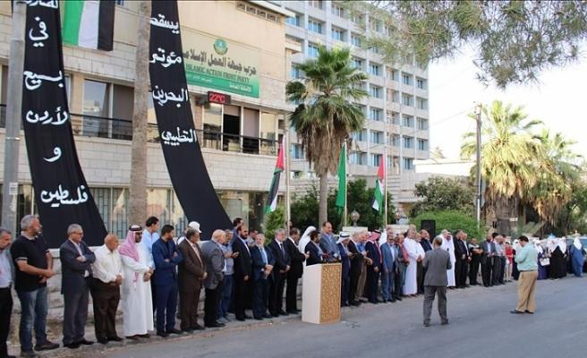 Ürdün'de Bahreyn Çalıştayı protesto edildi