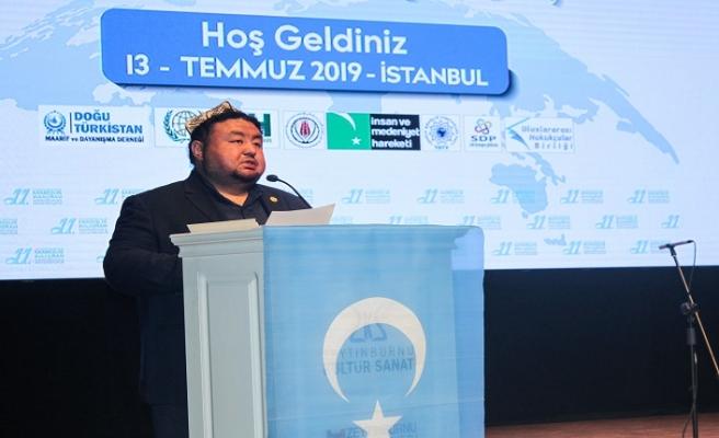 Dünya Doğu Türkistanlılar Kardeşlik Buluşması düzenlendi