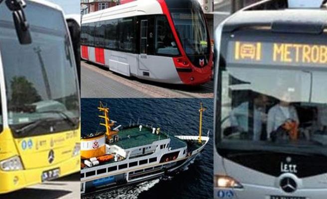 İstanbul'da toplu ulaşım araçları 15 Temmuz'da ücretsiz