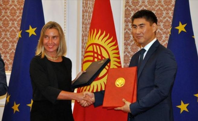 Kırgızistan ile AB 'ortaklık ve iş birliği anlaşması' için uzlaştı