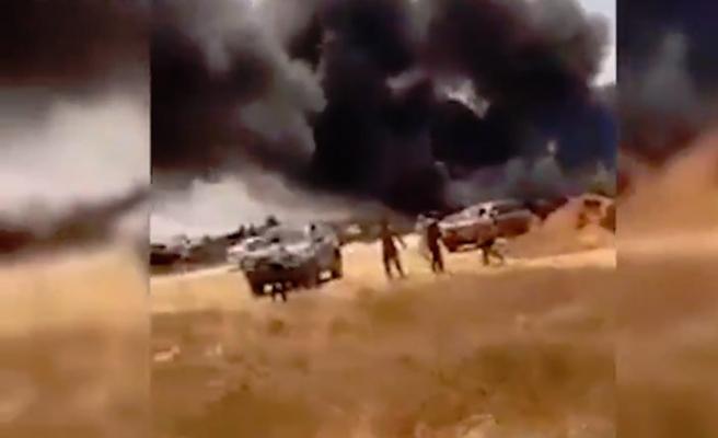Libya'da kabristanlıkta düzenlenen saldırıda üç kişi öldü