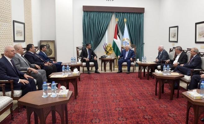 Mısır istihbarat heyeti Abbas ile görüştü