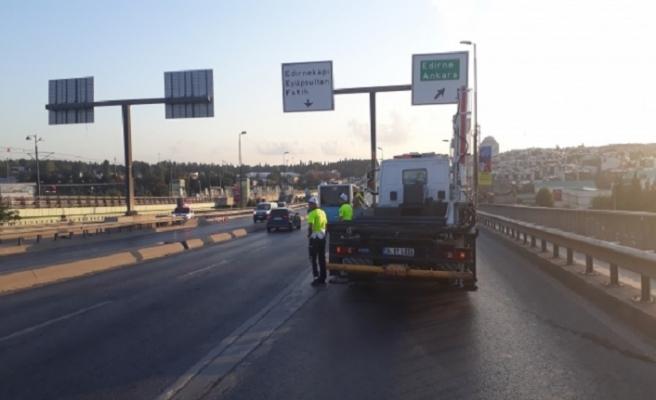 Ankara ve İstanbulda bugün bazı yollar trafiğe kapalı