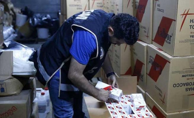 Balıkesir'de kaçakçılık operasyonu: 100 bin adet ele geçirildi
