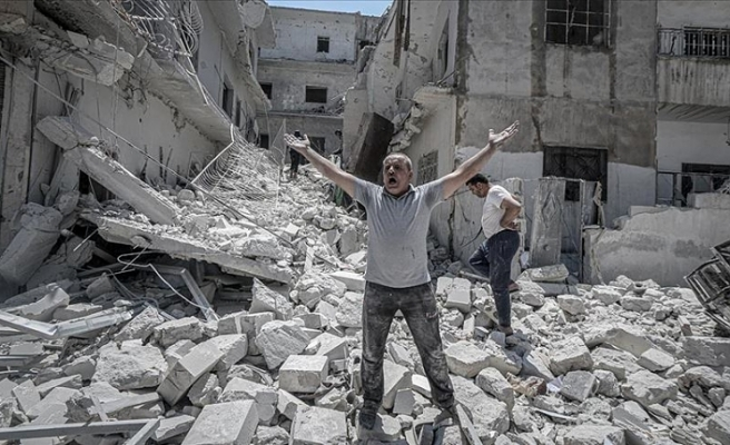 BM Genel Sekreter Sözcüsü Dujarric: Suriye'deki köy ve kasabaların yerle bir olduğu görünüyor