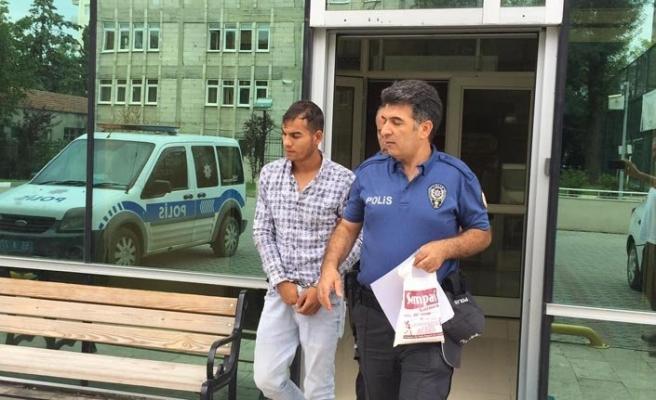 Cami hırsızı tutuklandı