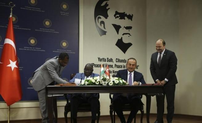 Çavuşoğlu-Ankourau ortak basın toplantısında Sudan vurgusu