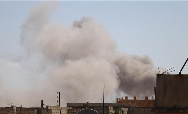 Esed rejimi İdlib'de ilan ettiği ateşkesi bozdu
