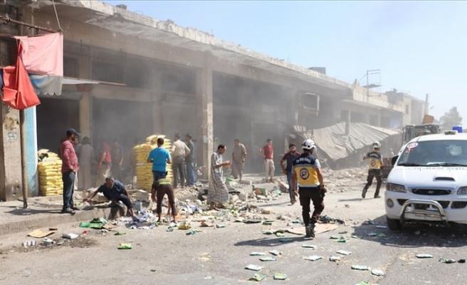 Esed rejiminden İdlib'e hava saldırısı: 6 ölü