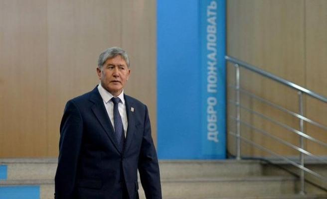 Eski Kırgızistan Cumhurbaşkanı Atambayev'in mal varlığı donduruldu