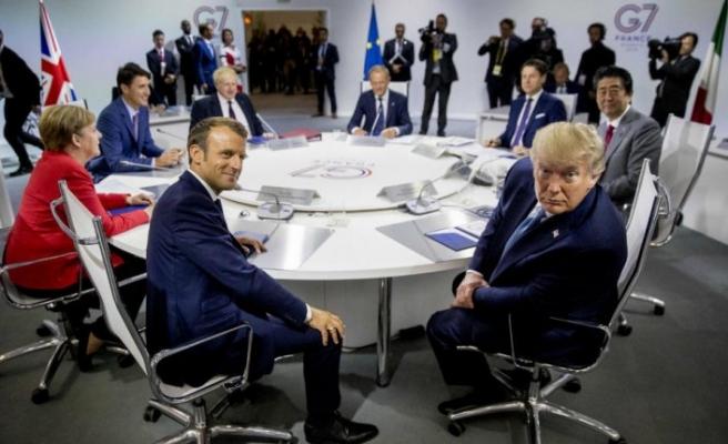 Fransa'ya sürpriz misafir: Cevad Zarif G7'de