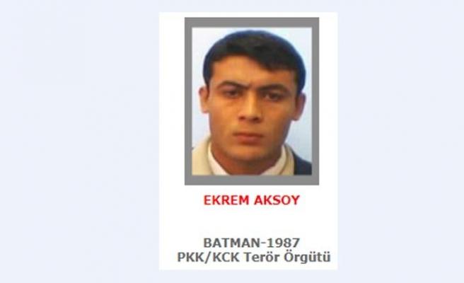 Gri listede aranan Ekrem Aksoy etkisiz hale getirildi