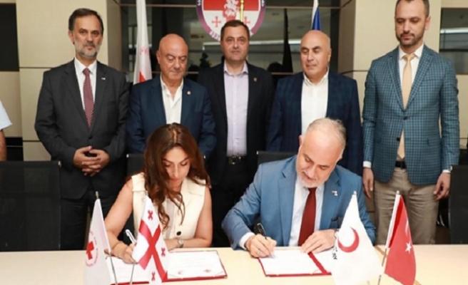 Gürcistan Kızılhaçı ile Türk Kızılayı'ndan ortak afet müdahale merkezi