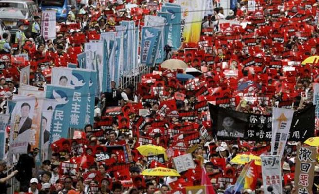 Hong Kong'da iade tasarısına karşı gösteriler hız kesmiyor
