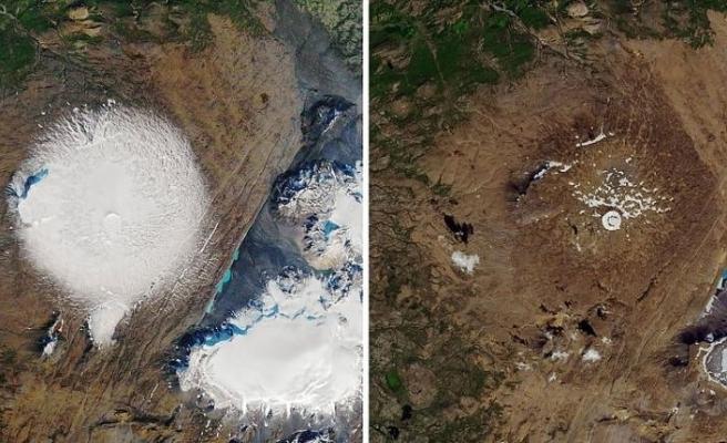 İzlanda 'ölen' ilk buzulu Okjokull için tören düzenliyor