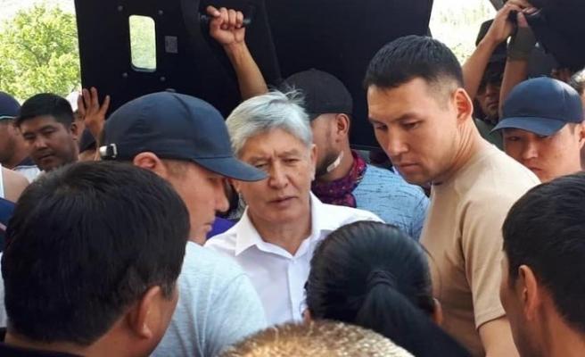 Kırgızistan'ın eski lideri Atambayev'in gözaltı süresi uzatıldı
