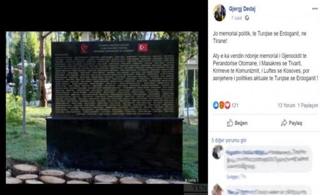 Kosova'nın Üsküp Büyükelçisinden yine ırkçı paylaşım