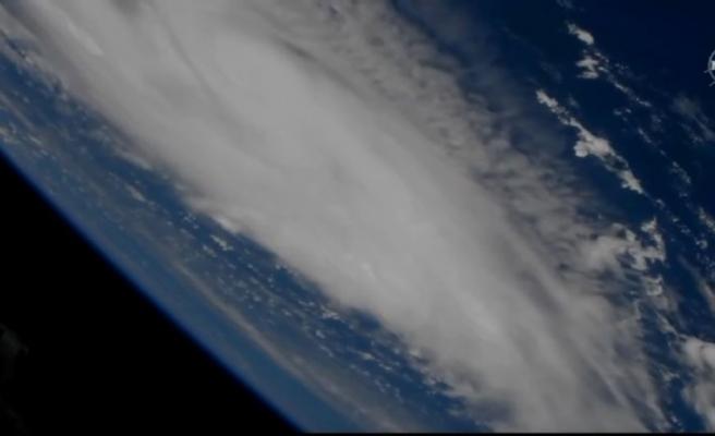 NASA görüntüleri yayınladı: Dorian kasırgası hızla ilerliyor