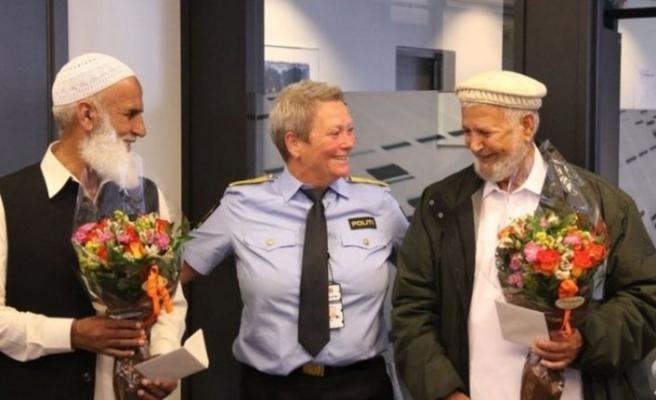 Norveç polisi, cami saldırısını önleyen ikiliyi kahraman ilan etti