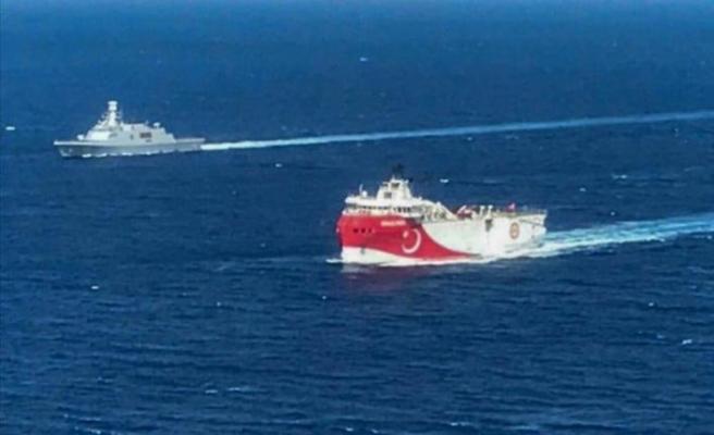 Oruç Reis araştırma gemisi yola çıktı