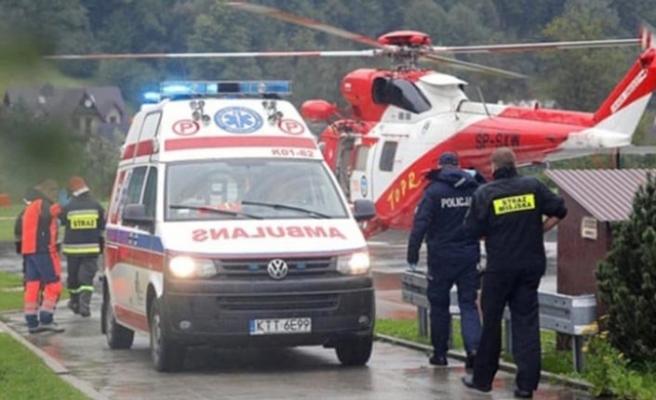 Polonya'daki şimşek fırtınası sonrası 3 kişi kayıp
