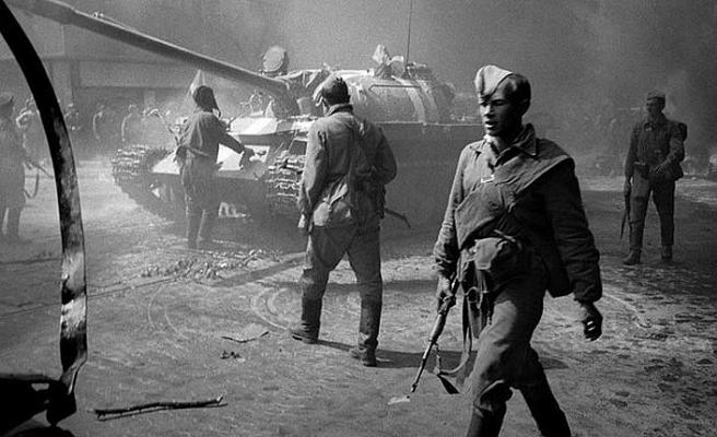 Prag Baharı Sovyet tanklarıyla kışa döndürülmüştü