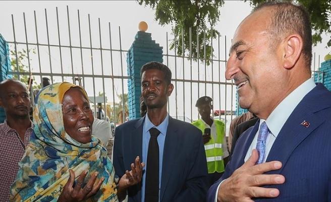 Sudan sokaklarından Türkiye'ye 'hayır duası'