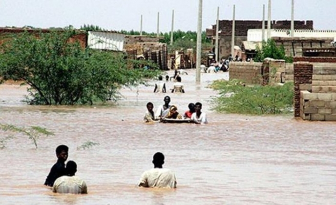 Sudan'da aşırı yağışlar 45 kişinin ölümüne sebep oldu