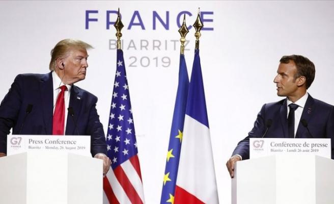 Fransa Cumhurbaşkanı Macron: Trump ile Ruhani'nin görüşebilmesi için şartları oluşturduk
