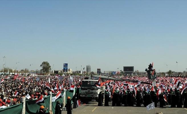 Yemen'de Birleşik Arap Emirlikleri protesto edildi