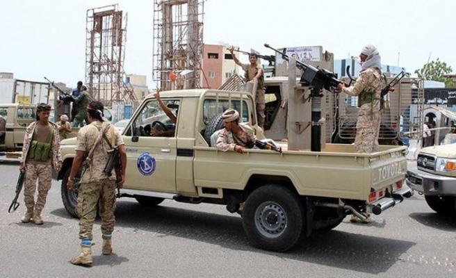 Yemen'deki BAE destekli Güney Geçiş Konseyinden Aden'de gövde gösterisi