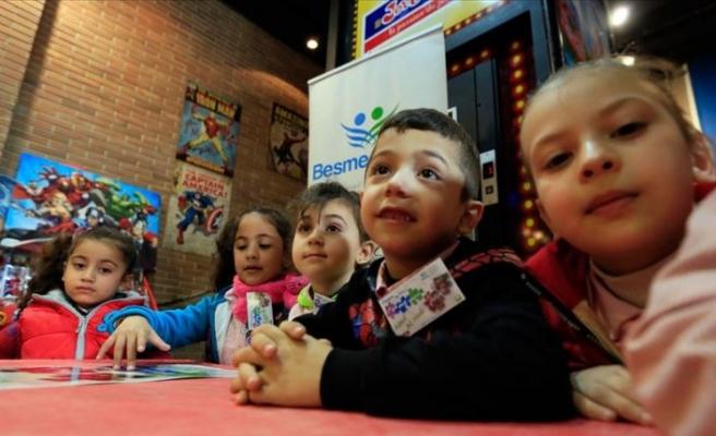 AFAD'dan Filistinli çocuklara eğitim desteği
