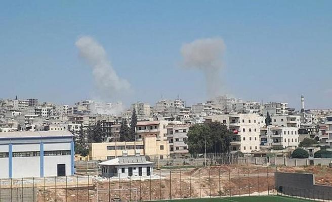 Afrin'de sivillere bombalı saldırı: 13 yaralı