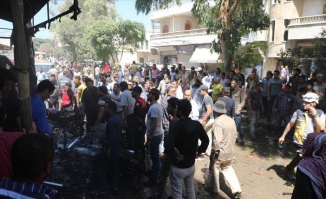Azez'de cami ve yetimhane önünde ikinci bombalı saldırı: 5 yaralı