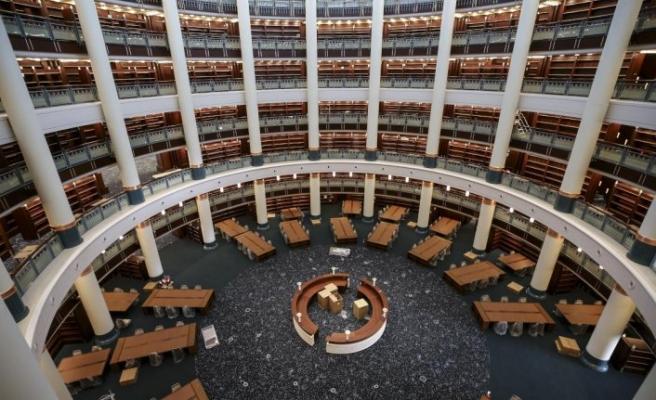 Cumhurbaşkanlığı Kütüphanesi ekimde açılıyor