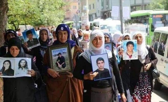 HDP İl Başkanlığı önünde eylem yapan aile sayısı 17'ye yükseldi