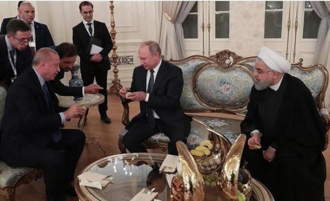 İlk kez incir gören Putin