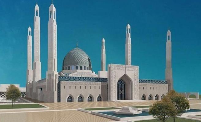 İnguşetya'da Kafkasya'nın Kalbi camisi yükseliyor