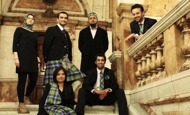 İskoç eteği Kilt'e Müslümanlar için dizayn edilen tartan resmiyet kazandı