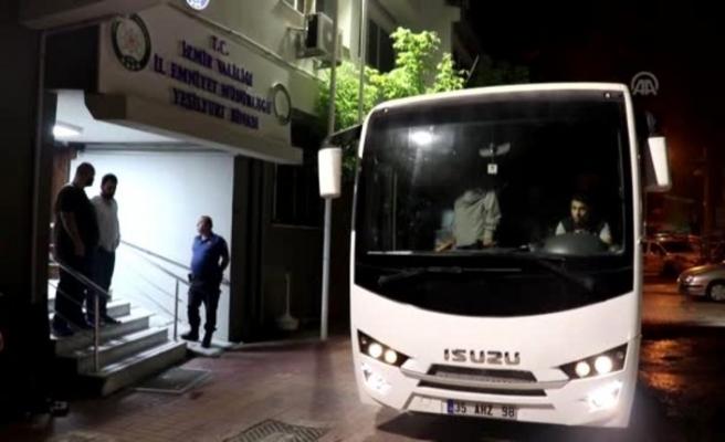 İzmir'de göçmen kaçakçılığı operasyonu