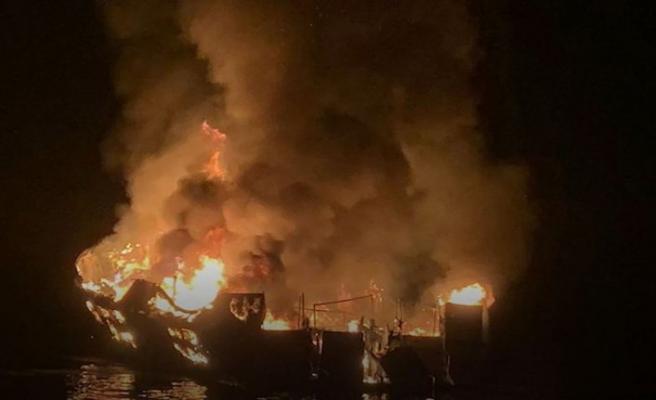 Kaliforniya'daki tekne yangınında ölü sayısı 8'e yükseldi