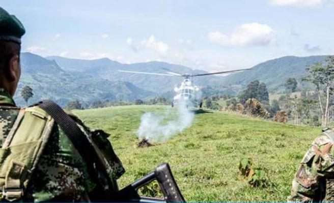 Kolombiya askeri, uyuşturucu çetesinin pususuna düştü: 4 ölü