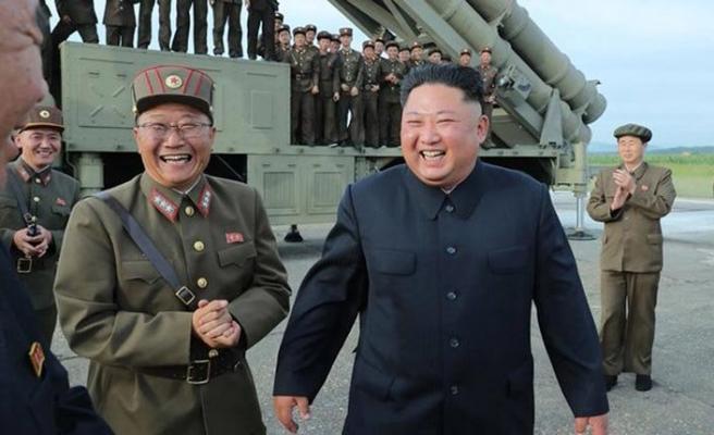 Kuzey Kore'den Doğu Denizi'ne iki  füze denemesi