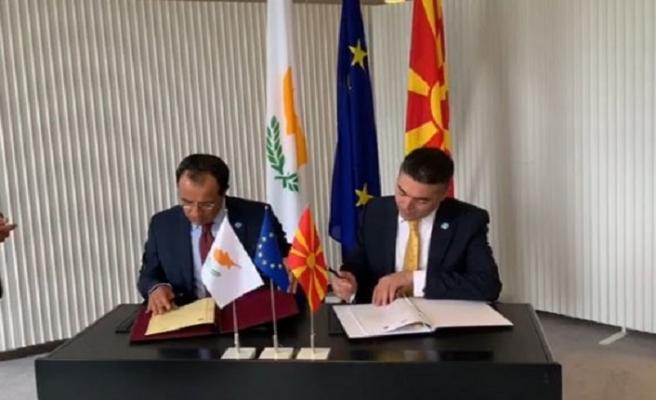 Kuzey Makedonya, Kıbrıs Rum Kesimi ile diplomatik ilişkileri başlattı