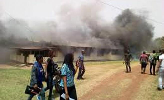 Liberya'da yatılı Kur'an Kursu, içindeki 26 çocukla yandı