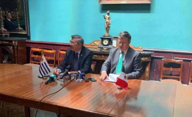 Meksika ve Uruguay'dan Venezuela'daki anlaşmaya destek