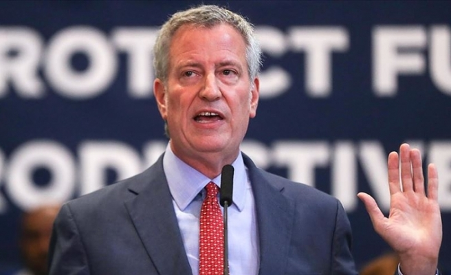 New York Belediye Başkanı Bill de Blasio yarışı bıraktı