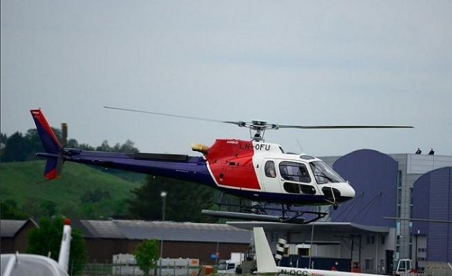 Norveç'te helikopter düştü: 6 ölü