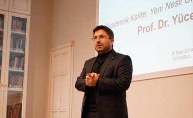 Prof. Dr. Yücel Oğurlu İstanbul Ticaret Üniversitesi Rektörü oldu